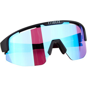Bliz Matrix Nano Optics Nordic Light Glasses matte black/begonia violet with blue multi